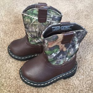 a08ccd9faf353 Granimals Shoes | Baby Cowboy Boots With Mossy Oak Size 3 | Poshmark